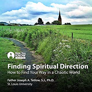 Finding Spiritual Direction: How to Find Your Way in a Chaotic World audiobook cover art