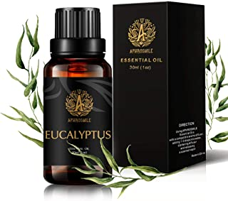 Aromatherapy Eucalyptus Essential Oil, 1oz - 30ml Aromatherapy Essential Oil Eucalyptus Scent for Diffuser, Humidifier, Therapeutic Grade Eucalyptus Fragrance Essential Oil for Massage, Home