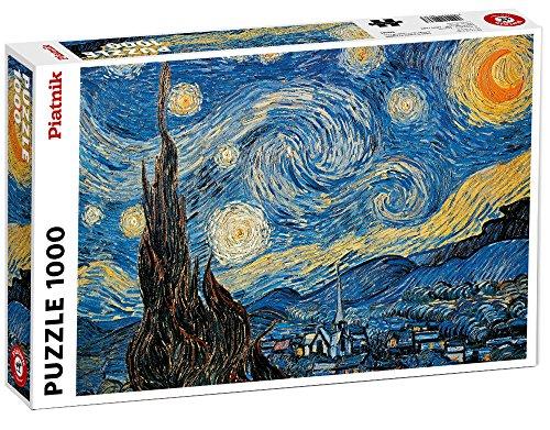 Piatnik Van Gogh - Nuit étoilée: 1000 Pieces