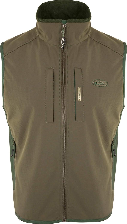 Windproof Tech outlet Vest Olive Award Dark Large Green
