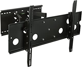 Mount-It! MI-310L Full Motion TV Wall Mount Bracket Heavy-Duty Articulating Corner Stand for 50 55 60 65 70 In