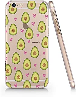 Cute Avocado Pattern Slim Iphone 6 6S Case, Clear Iphone 6 6S Hard Cover Case For Apple Iphone 6/6S -Emerishop (iphone 6)