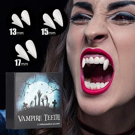 UK Seller For Halloween Fancy Dress Vampire Fangs by Bite Me Custom Fit