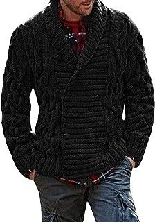 Mens 1950s Letterman Cardigan Sweater