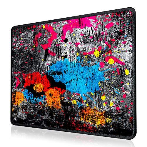 Alfombrilla Ratón Oficina, [2020 Diseño] EasySMX Alfombrilla Ratón Gaming Impermeable Grande 250x300x3mm, Almohadilla Ratón Grande Impermeable, Lavable y Antideslizante para Gamers, Trabajo de Oficina