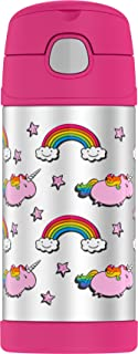 Thermos Funtainer 12 Ounce Bottle, Fat Unicorn