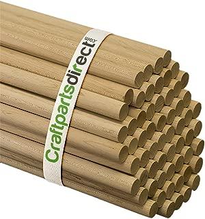 Wooden Dowel Rods - 5/8