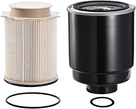 Catinbow DF99085 + 68157291AA 68065608AA Fuel Filter for Dodge Ram 2500 3500 4500 5500 With Diesel Engine (6L-6.7L)