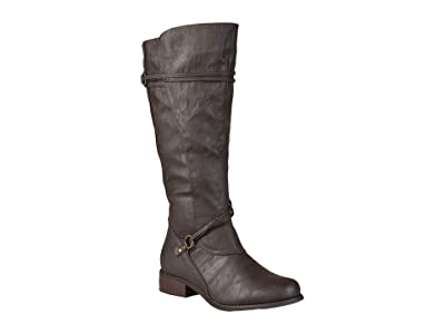 Journee Collection Harley Boot Extra Wide Calf