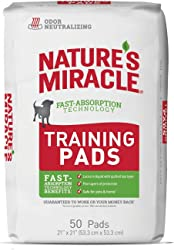 Nature s Miracle Puppy Training Pads with Fast Absorption Technology