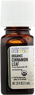 Aura Cacia Organic Cinnamon Leaf - .25 oz
