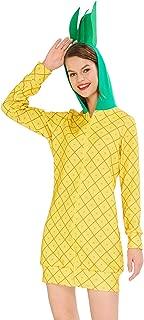 uideazone Women's Halloween Costume Dress Fruit Theme Hoodie Kangaroo Pocket for Halloween Party Cosplay