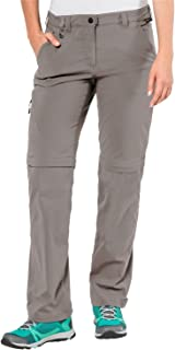 Jack Wolfskin Women's Activate Light Zip Off Hiking Pant