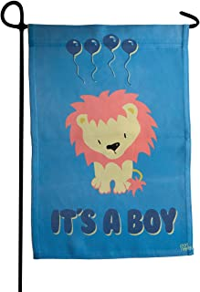 Port North Outdoor Garden Flag | It's A Boy | Cute House Decor Double-Sided Flags Made | Great for Garden, Yard, Porch & Patio | 12 x 18 Inches