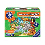 Orchard Toys 216 Who's In The Jungle Jigsaw, Multicoloured, 25 Piece Puzzle