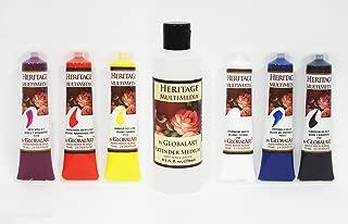 Jansen Art Studio Heritage Multimedia 6 Color Set