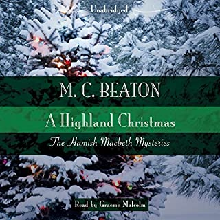 A Highland Christmas audiobook cover art
