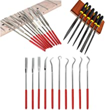 KingBra 20pcs Tools Home Improvement Power Hand Tools Files & Rasps Titanium Coated Diamond Mini Assorted Wood Rasp Needle...