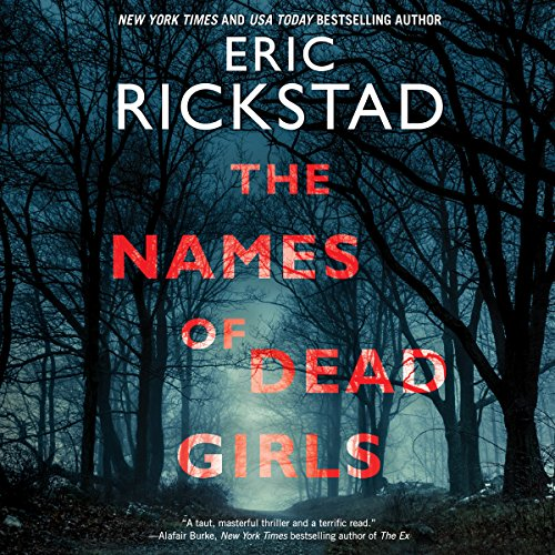 The Names of Dead Girls audiobook cover art