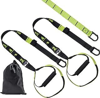 Umeken Bodyweight Resistance Training Straps,Full Body Strength Workout Adjustable Home Gym Fitnesss Bands Trainer Kit