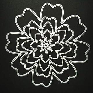 Pulbo Matrice de découpe en acier au carbone pour scrapbooking et gravure de fleurs de qualité supérieure et créative
