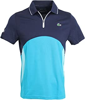 Men's Sport Ultra-Dry Piqué Zip Tennis Polo Shirt DH4747 RWP