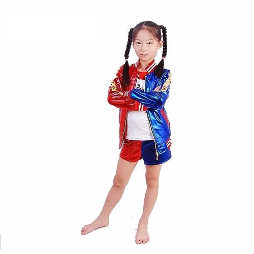 J J DECO Kids Multi Color Party Costume New Ver
