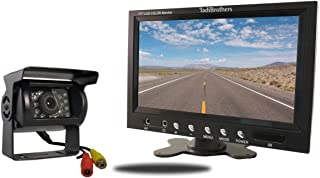 TadiBrothers 7 Inch Monitor and a 120 Degree Mounted RV Backup Camera (RV Backup System)
