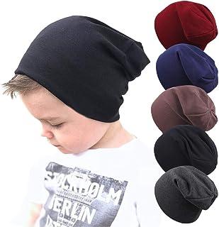 Toddler Kids Baby Boy Girl Warm Pleuche Knotted Bowknot Hat Beanie Headwear Cap