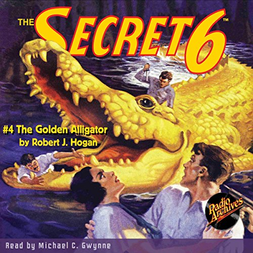 The Secret 6 #4  By  cover art