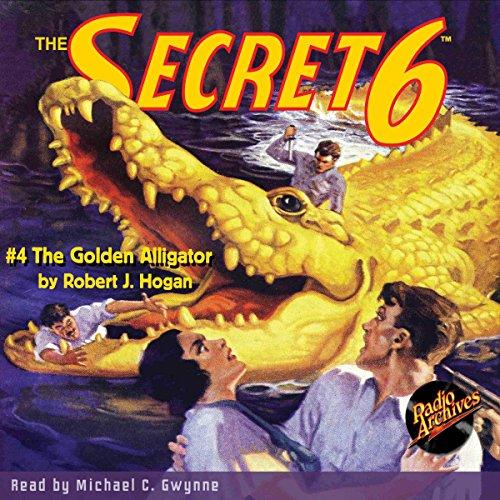 The Secret 6 #4 audiobook cover art