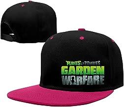Adult Plants Vs.Zombie Garden Warfare Logo Contrast Color Fitted Hat KellyGreen