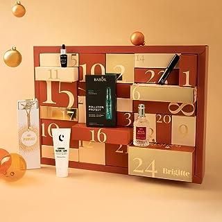 BRIGITTE Box Premium Adventskalender 2021   Premium Beauty Adventskalender für Frauen im Wert von über 430€