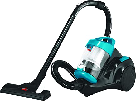 Bissell Zing Compact Canister Vacuum Cleaner, Blue -2155E