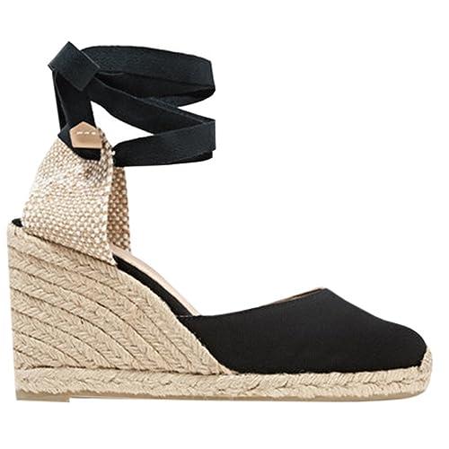 7f45e834ff4 Lace Up Platform Sandals: Amazon.com