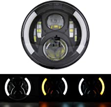 SKTYANTS 7 Inch led Headlight DRL (Left/Right) Turn Signal Lights for Motorcycle Harley Davidson