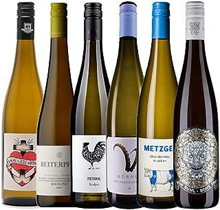 KERNenergie Weinpaket PFÄLZER WEINE 6 x 0,75l – Trockene Weißweine im Vorteilsset – Verschiedene Rebsorten aus der Pfalz