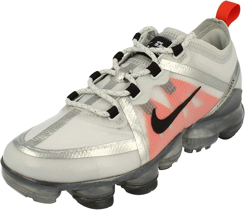 Nike Air Vapormax 2019 GS Running Trainers AJ2616 Sneakers Shoes (UK 5 US 5.5Y EU 38, Pure Platinum Black White 002)