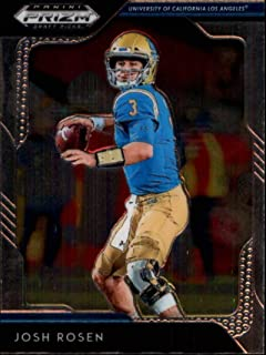 2019 Panini Prizm Draft Picks #52 Josh Rosen UCLA Bruins Football Card