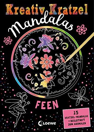 Kreativ-Kratzel Mandalas - Feen