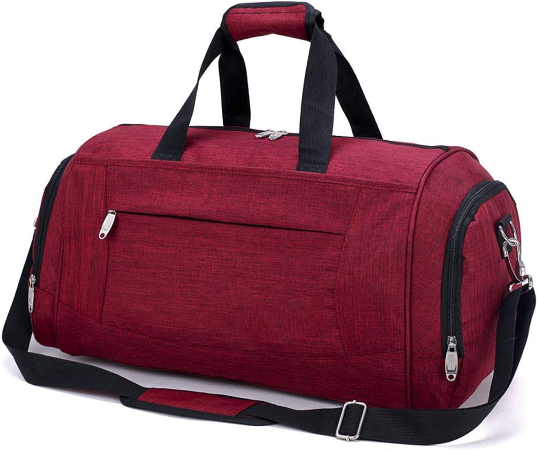 Sports Duffel Bag Gym Bag Mens Travel Bag Portable Sports Travel Shoulder Bag