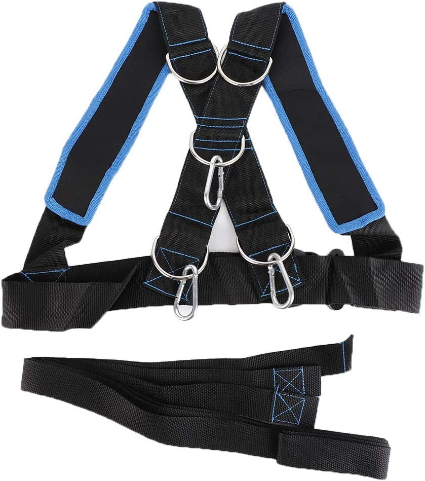 Yuehuam Sled Harness Washington Mall Fitness Traini Strength Resistance NEW before selling ☆ Physical
