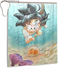 AWIHE Dragon Ball Super Spoilers Shower Curtain-Bathroom Decoration Shower Curtains Waterproof 60 X 72 Inch