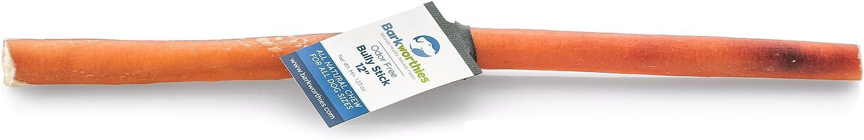 Barkworthies Bully Stick  Odor Free  12 In