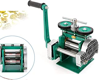 Hand Jewelers Rolling Mill, Jewelry Rolling Mill Jewelry Tools and Machine, Hand Operate Rolling Mill Width 85mm for Jewelry Design Repair
