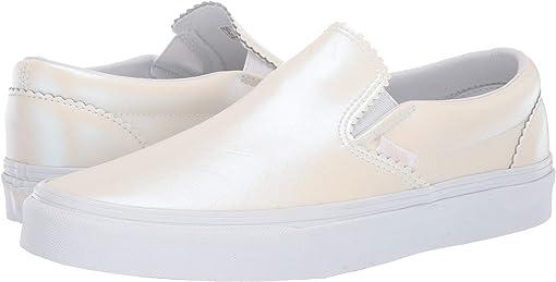 (Pearl Suede) Classic White/True White