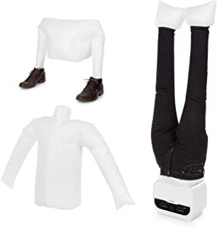 KLARSTEIN ShirtButler Pro - Kit 2 en 1 : sécher et Repasser pour Chemises & Pantalons, Sécher Les Chaussures, 1200W, 5 Niv...