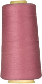 Sewing Thread for Sewing and Embroidery Machine All Purpose Polyester Thread Cone for Quilting Serger Overlock Merrow Single Needle 3000 Yards Each