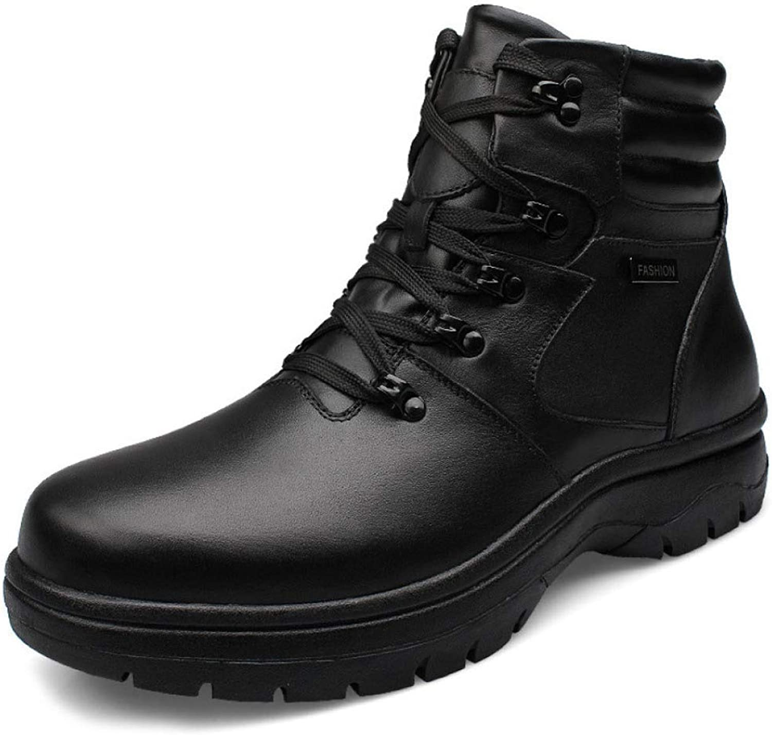 LIJUN Special Force Tactical Desert Combat Boots Outdoor shoes Snow Boots Men Quality Military Leather Boots