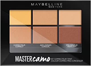 Maybelline New York Master Camo - Kit corrector para tono de piel medio 02, 6,5g
